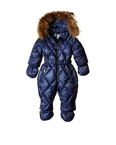 ADJ Monopezzo Belted Down Overall Detachable Fur