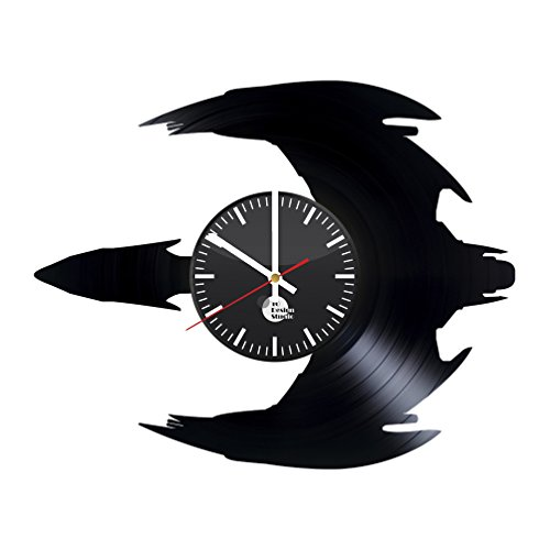 Star Trek Bird of Prey Vinyl Record Wall Clock