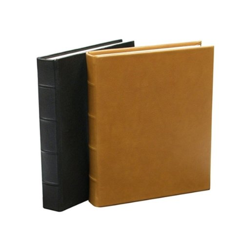 Graphic Image Traditional Leather Black Junior Bound Album (8″ x 9-1/2″)