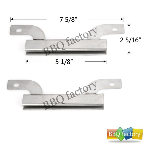 09423(2-Pack) Stainless Steel Crossover Tube Replacement For Select Gas Grill Models By Brinkmann And Others