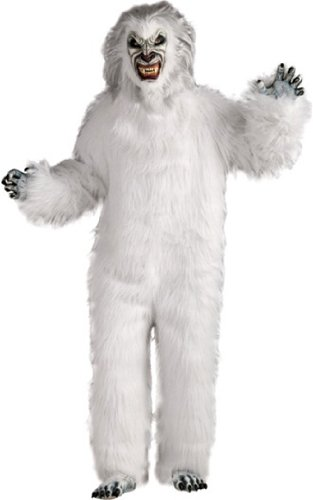 Yeti (white) Adult Halloween Costume Size Standard