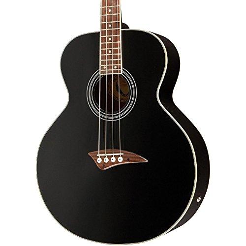 Dean Acoustic-Electric Bass, Classic Black (Deans Bass Guitar compare prices)
