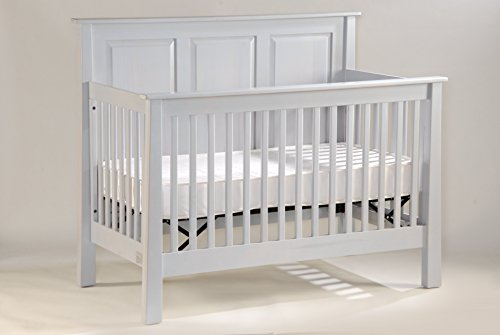 Capretti Design New England Cherker Panel Convertible Crib, Natural