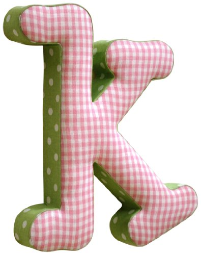New Arrivals The Letter K, Pink and Green