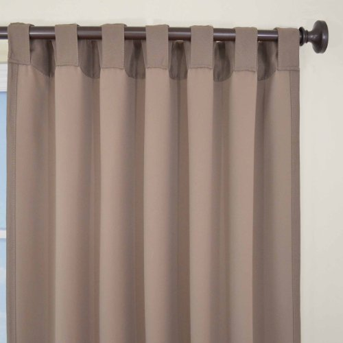 Eclipse Thermal Blackout Patio Door Curtain Panel 100 X 84 Black Home Garden Decor Window