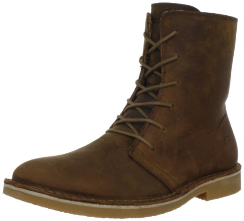 Skechers USA Men's Drastic Patterno Lace-Up Boot,Brown,7.5 M US
