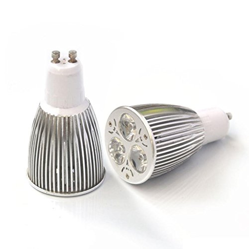 Eyourlife 12W Gu10 Led Bulb- Cool White Equivalent Gu10 Led Spotlight 600-750 Lumen 120 Degree Beam Angle For Landscape,Accent,Recessed,Track Lighting