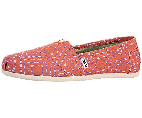TOMS Women's Classics Tie Dyed Flat