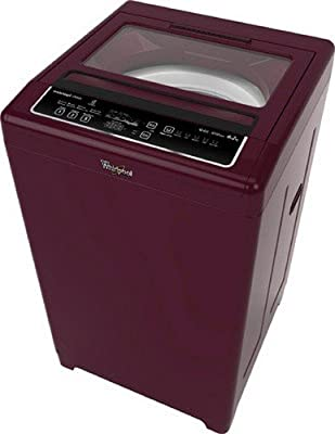 Whirlpool WM Deluxe 622 D Fully-automatic Top-loading Washing Machine (6.2 Kg, Maroon)