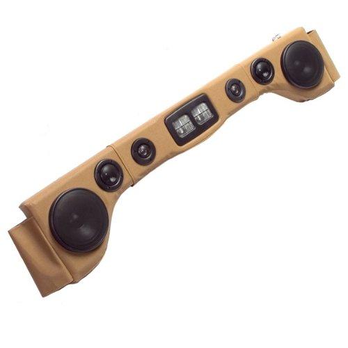 Rugged Ridge 13002.37 Ultimate Spice 6-Speaker Sound Bar With Light