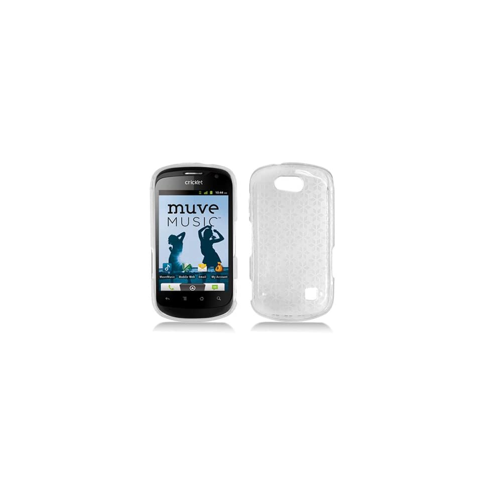 Transparent Clear Flex Cover Case for ZTE Groove Cricket X501 Cell Phones & Accessories