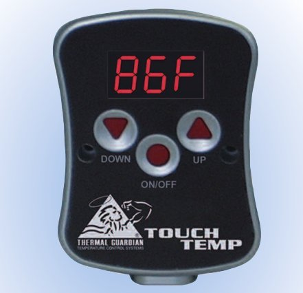 Softside Waterbed Heater Thermal Guardian Touch Temp Heater front-521051