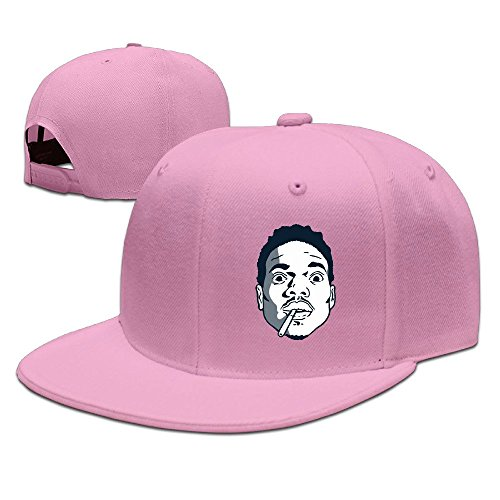 chance-the-rapper-unisex-100-cotton-pink-adjustable-snapback-trucker-cap-one-size