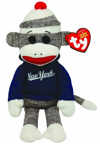 Ty Beanie Babies - New York Sock Monkey - 1