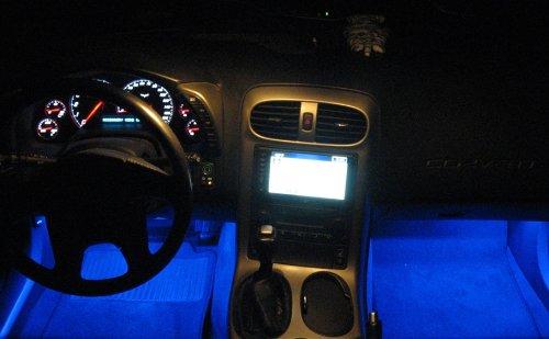 C5 & Z06 Footwell Led Light Kit/Bright/Blue