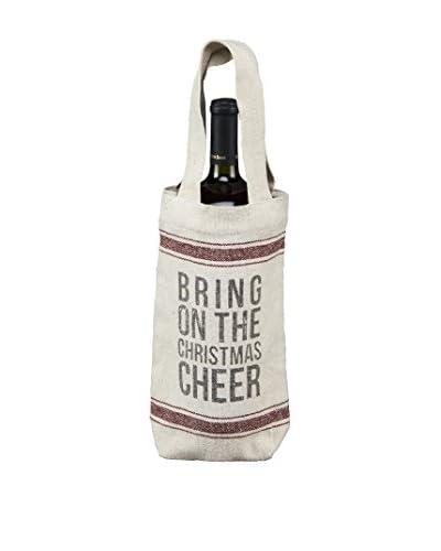 Christmas Cheer Wine Bag