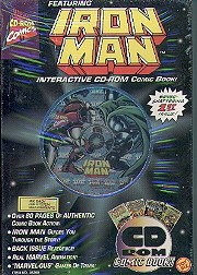 Iron Man Interactive Comic Book (Pc/Mac) back-931874