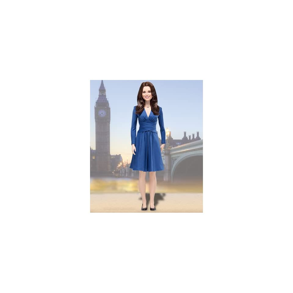 Kate Middleton Royal Engagement Vinyl Portrait Doll