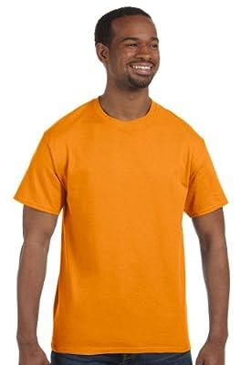 Hanes - 6 oz. Tagless T-Shirt >> 3XL,SAFETY ORANGE