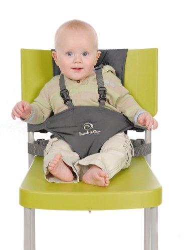 Bambinoz Porta Chair Travel High Chair, Slate