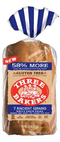 Three Bakers Gluten Free 7 Ancient Grain Bread (Pack of 3) (Seven Grain Bread compare prices)