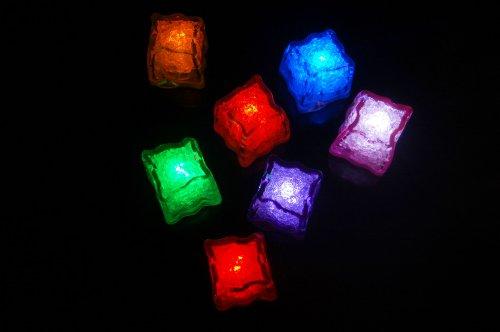 Set-of-7-Litecubes-Brand-Jewel-Color-Tinted-LiteCubes-Sampler-Pack