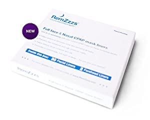 RemZzzs CPAP Mask Liners (Fits the following Nasal masks: RESMED ACTIVA NASAL - RESMED ACTIVA LT NASAL - RESMED MIRAGE MICRO NASAL - FLEXIFIT 405 NASAL - (S/M) FLEXIFIT 406 PETITE - FISHER PAYKEL ZEST/PETITE - RESMED ULTRA MIRAGE 11 SHALLOW/SHALLOW-WIDE)