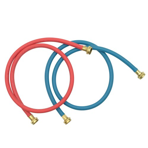 Whirlpool 8212545RP 5-Foot Red and Blue Washer Hos (Hot Water Hose Red compare prices)