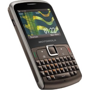 Motorola EX115 Dual-Sim Quad-GSM Cell Phone - Titanium Unlocked