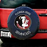 Florida State Seminoles NCAA Spare Tire Cover (Black)