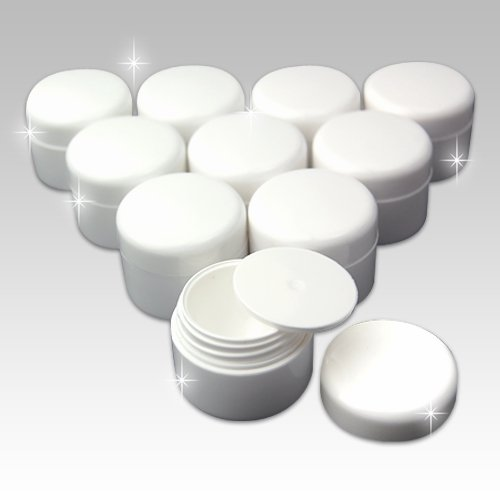 Gel Nail Containers: For color gels and small parts (10count with lids) (Gel Nail Container compare prices)