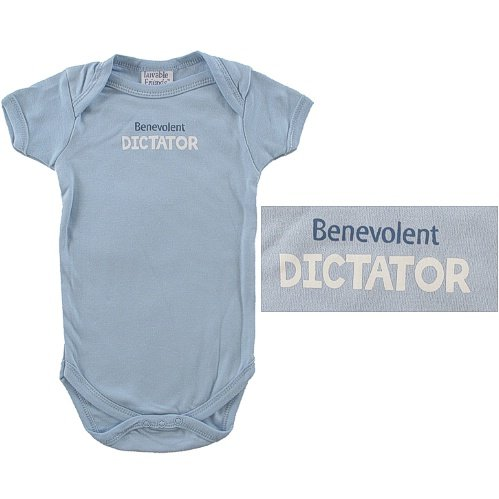 Baby-Says Bodysuit, Benevolent Dictator - Buy Baby-Says Bodysuit, Benevolent Dictator - Purchase Baby-Says Bodysuit, Benevolent Dictator (Luvable Friends, Luvable Friends Apparel, Luvable Friends Toddler Boys Apparel, Apparel, Departments, Kids & Baby, Infants & Toddlers, Boys, One-Pieces & Rompers)