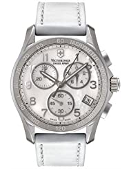 Swiss Army Ladies Chrono Classic - White Mother of Pearl - Date - Tachymeter
