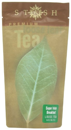 Stash Tea Company Super Irish Breakfast Loose Leaf Tea, 3.5 Ounce Pouches (Pack of 3)