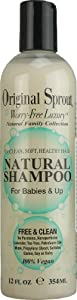 Original Sprout Natural Shampoo 100% Vegan (354ml, for Babies & Up)