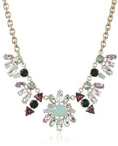 "Juicy Couture Multi-Rhinestone Chain Necklace, 17"""
