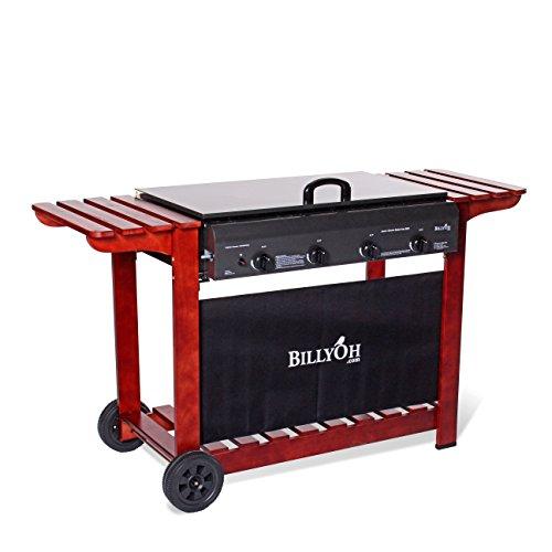 Billyoh Acorn Flatbed Gas Bbq Range (2, 3, 4 Or 6 Burner Barbecue Available) (4 Burner)