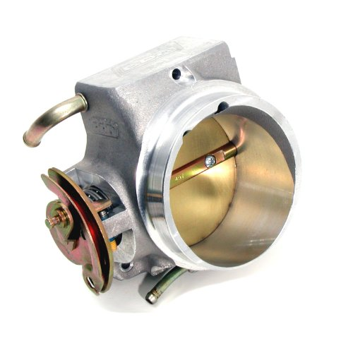 BBK 17090 85mm Throttle Body - High Flow Power Plus Series for GM LS1 Camaro, Firebird, GTO GM Full Size 4.8L,5.3L, 6.0L (2002 Camaro Ls1 Performance compare prices)