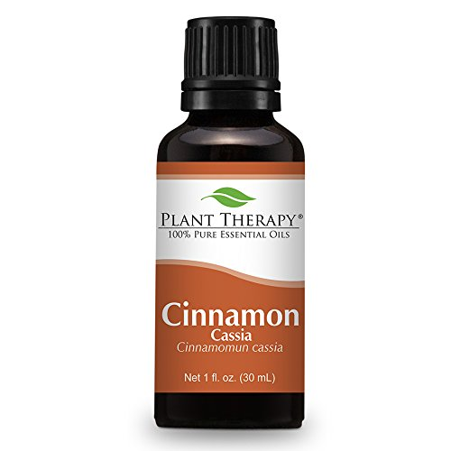 Cinnamon Cassia Essential Oil. 30 ml (1 oz). 100% Pure, Undiluted, Therapeutic Grade.