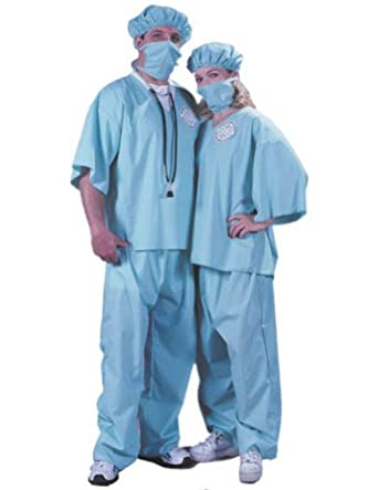Amazon.com: Doctor Doctor Adult Halloween Costume - Most Adults: Adult