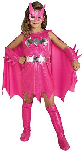 Rubie's Costume Co DC Comics Pink Batgirl Toddler Costume
