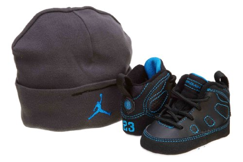Jordan 9 Retro (GP) Crib Basketball Shoes (401843 007), 4
