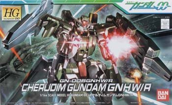 HG Gundam OO 00 #48: Cherudim GNHW/R 1/144 model kit