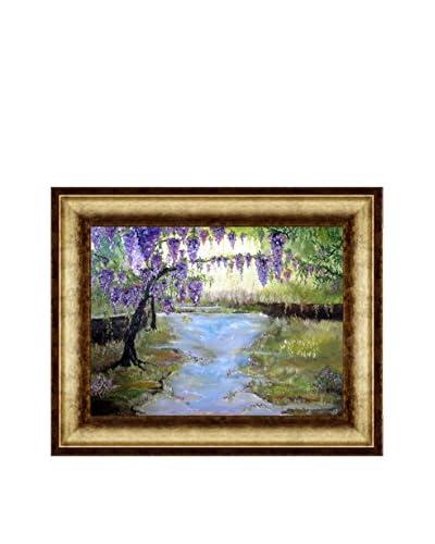 Susan Art Bliss Framed Canvas Print