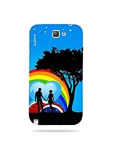 alDivo Premium Quality Printed Mobile Back Cover For Samsung Galaxy Note 2 / Samsung Galaxy Note 2 Back Case Cover (MKD1075)