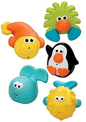 Sassy Bathtime Pals Squirt and Float Toys, 5 Piece Set by Sassy that we recomend personally.