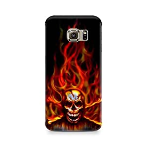 Mobicture Skull Abstract Premium Printed Case For Samsung S7