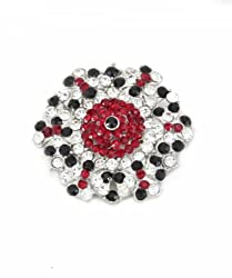 Trinketbag Hexy brooch Multi colour for women