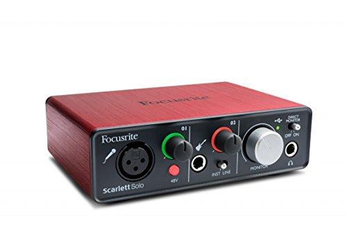 Focusrite Scarlett Solo Compact Usb Audio Interface