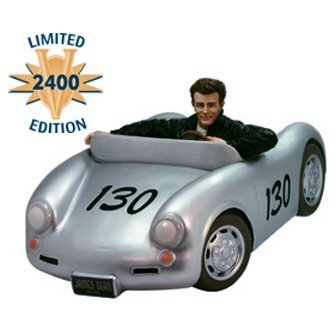 James Dean 50th Anniversary Porsche Premier Limited Edition Cookie Jar